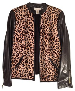 Chico's Top Animal print and black