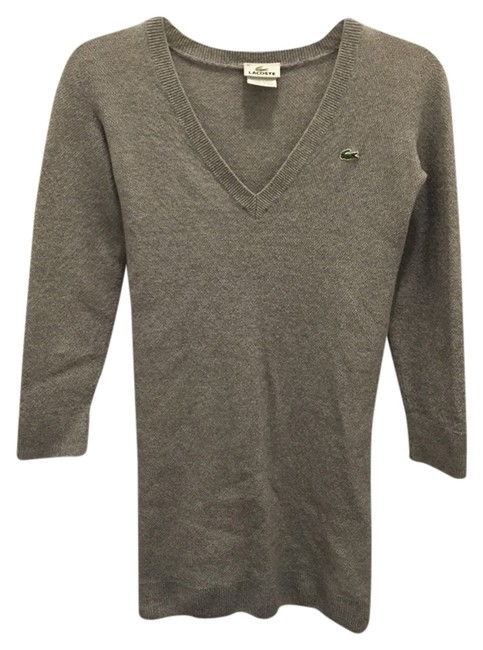 Preload https://item3.tradesy.com/images/lacoste-grey-sweaterpullover-size-2-xs-1716762-0-0.jpg?width=400&height=650
