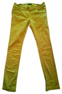 Sasch Straight Pants Yellow