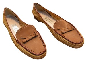 Salvatore Ferragamo Flat Loafer Brown Flats
