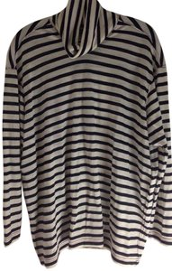 Junya Watanabe Comme des Garçons T Shirt Black and Cream Stripe