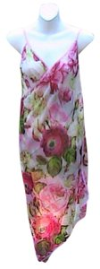 Other Pink Floral Chiffon Wrap Around Cover (#22)