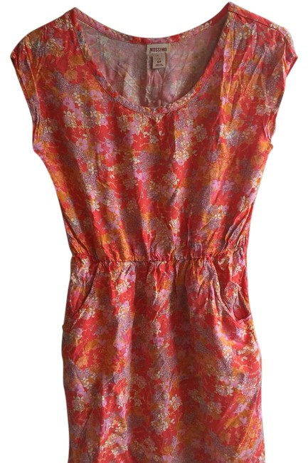 Mossimo Supply Co. short dress Multi bright colored Short Summer Colorful Pockets on Tradesy Image 1