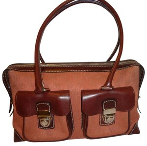 Dooney & Bourke Nwot Satchel in Rust