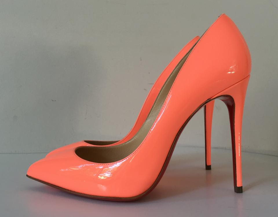 christian louboutin usa - Christian Louboutin Pigalle Follies 100 Flamingo Peach Patent ...