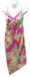 Other Multi Floral Chiffon Wrap Around Cover (#26)