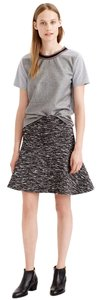 J.Crew Mini Skirt black, white, grey