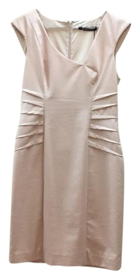 47c2e24900d Black Halo Blush Nude Rn  40680 Above Knee Cocktail Dress Size 10 (M ...