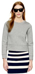 J.Crew Cropped Designer Crewneck Sweater