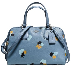 Coach 37176 Nolita Crossbody Satchel in blue
