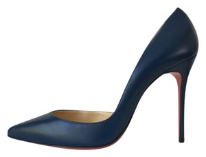 Christian Louboutin Espadon Blue Pumps