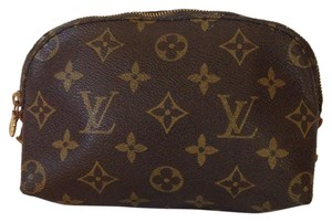 Louis Vuitton Louis Vuitton Pochette Monogram Cosmetic Poch
