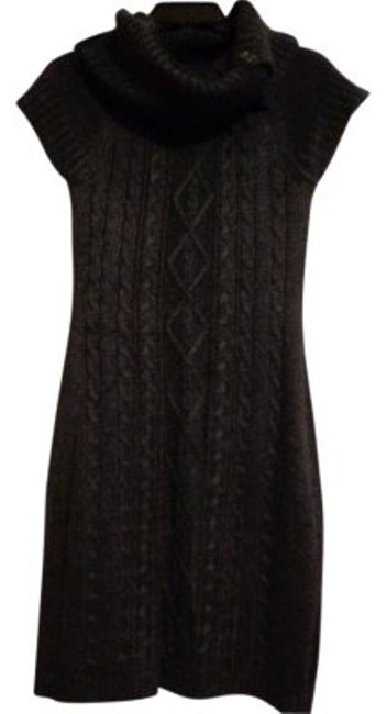 Preload https://img-static.tradesy.com/item/17171/calvin-klein-charcoal-grey-cable-knit-sweater-above-knee-workoffice-dress-size-2-xs-0-0-650-650.jpg