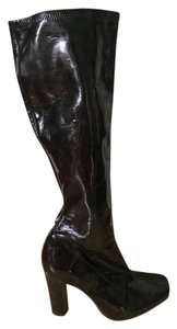 BCBGeneration Boot Crocodile Brown Boots