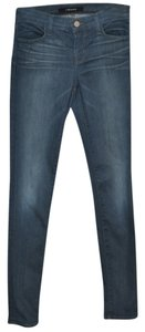 J Brand Acid Wash Super Skinny Jeans-Medium Wash