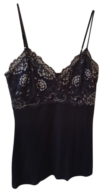 Express Lace Sexy Adjustable Top Black