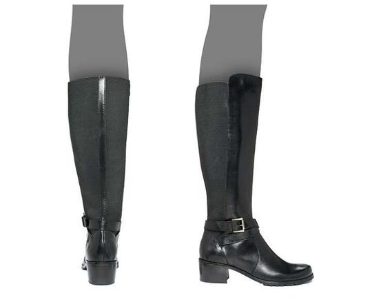 Anne Klein New In Box Classic Durable Black Boots