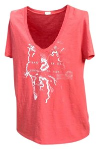 J.Crew T Shirt Coral