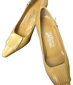 Salvatore Ferragamo Camel Pumps