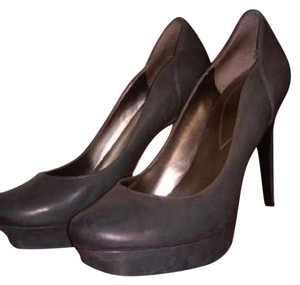 Guess High Heels Leather Faux Leather New grey Pumps