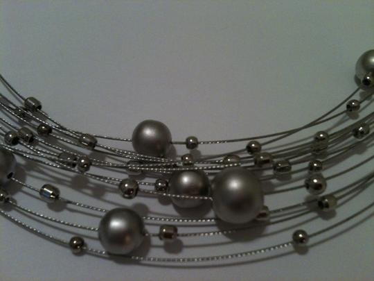 Other Silver Orb Choker Necklace Image 2