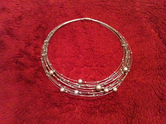 Other Silver Orb Choker Necklace Image 7