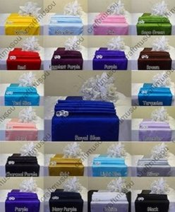 """Multi-color 20 To Choose From 12""""X108"""" Satin Table Runner Party Banquet 20+ Colors Tablecloth"""