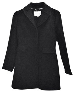 Banana Republic Peplum Wool Pea Coat
