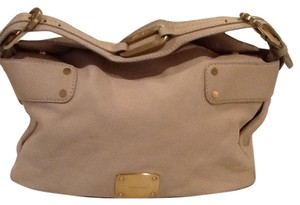 Jimmy Choo Satchel in Light. Cream