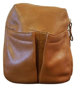 Woolrich Leather Slingback Backpack