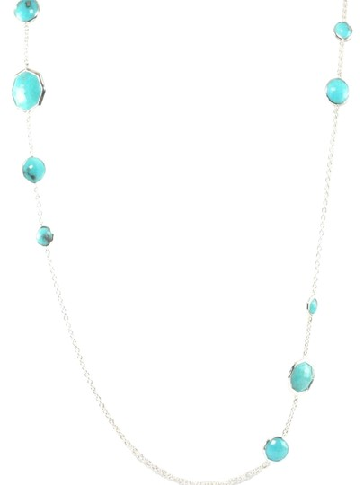 Preload https://img-static.tradesy.com/item/17176759/ippolita-turquoise-sterling-silver-rock-candy-octagon-long-chain-link-necklace-0-1-540-540.jpg