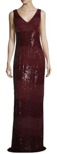 Nicole Miller Gown Ombre Sequin Dress