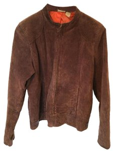 Ruff Hewn Suede Lined Machine Washable Motorcycle Jacket