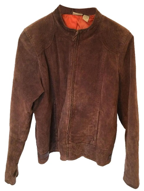 Preload https://img-static.tradesy.com/item/17177491/ruff-hewn-brown-motorcycle-jacket-size-16-xl-plus-0x-0-1-650-650.jpg