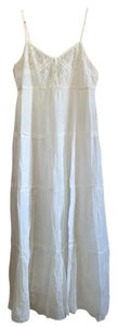 White Maxi Dress by Mlle Gabrielle