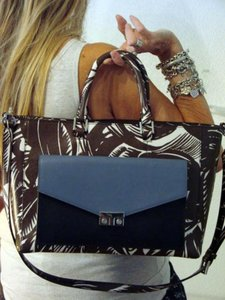 Tory Burch Tote in Tabora/Harbor/Blue/New Ivory/Navy