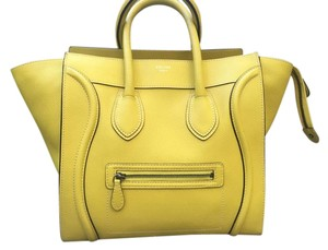 Céline Satchel in Yellow