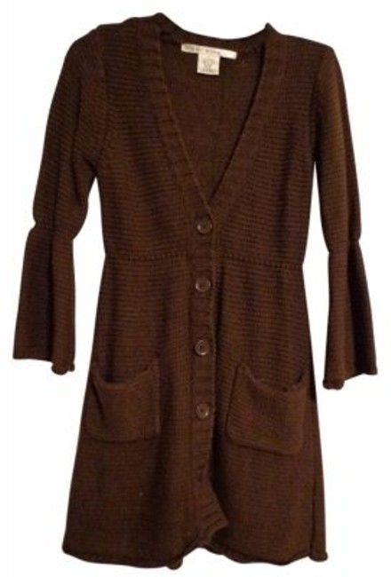 Preload https://item4.tradesy.com/images/max-studio-brown-long-cardigan-chocolate-sweaterpullover-size-4-s-17178-0-0.jpg?width=400&height=650