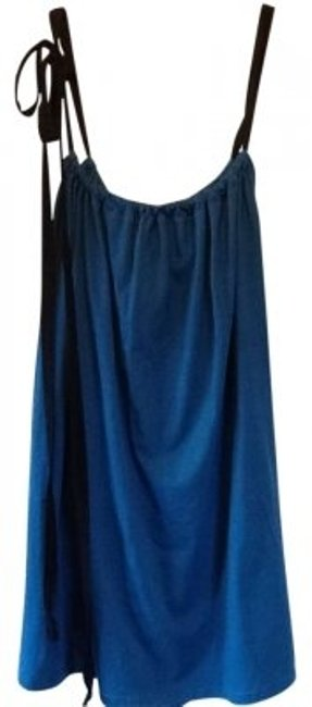 American Apparel short dress Blue/ black Le Sac on Tradesy
