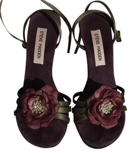 Steve Madden Purple Sandals