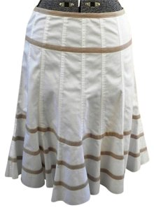 Caroll Skirt White/Beige