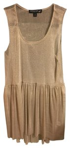 Living Doll Top Gold