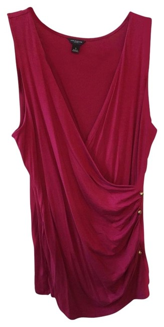 Ann Taylor Sleeveless Layer Top Rose