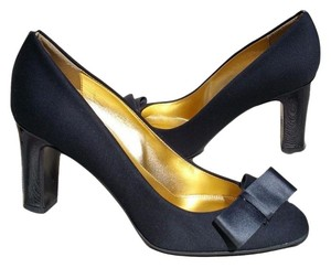 J.Crew Bow Heels BLACK Pumps