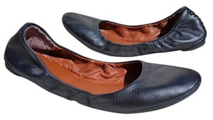 Lucky Brand Leather BLACK Flats