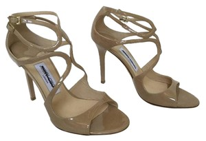 Jimmy Choo Strappy Lang Never Worn NUDE Sandals