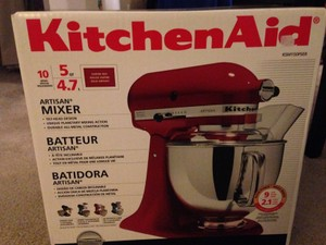Red 5 Qt. Mixer Household Electronics