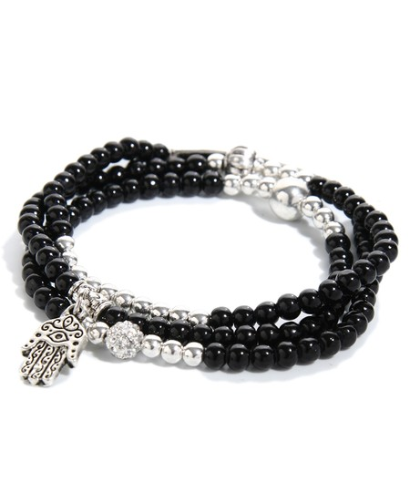 Other Faith Hope Love Charm Convertible Stretch Bracelet Necklace