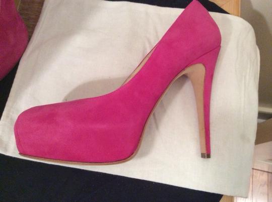 Brian Atwood fuschia Pumps