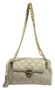 Prada Nylon Quilted Chain Shoulder Bag